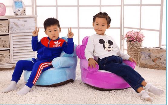 Fotoliu din plus copii Princess sit down 2