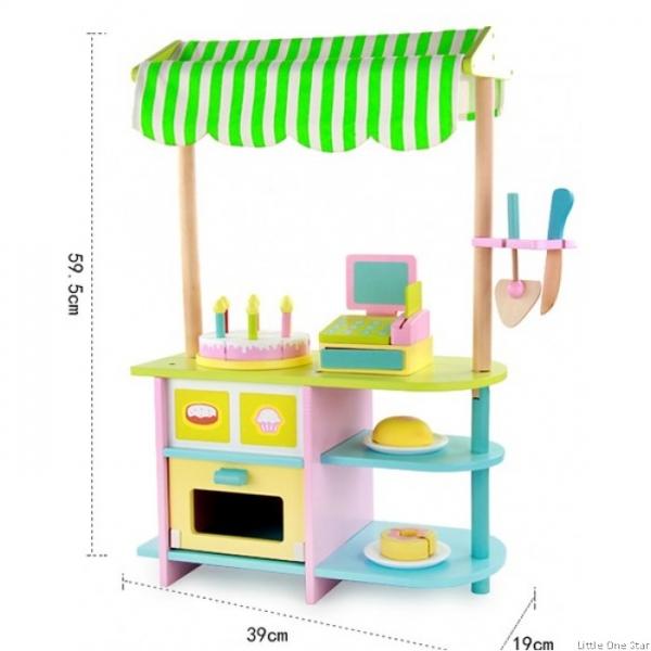 Stand de Brutarie din lemn Copii Bakery 8