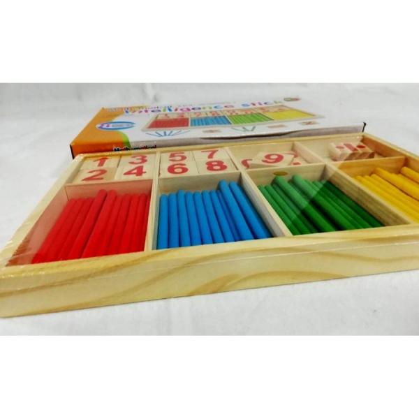 Joc din lemn sa invatam sa numaram IntelligenceStick 2