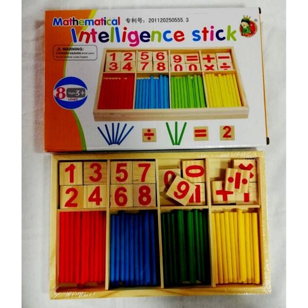 Joc din lemn sa invatam sa numaram IntelligenceStick 0