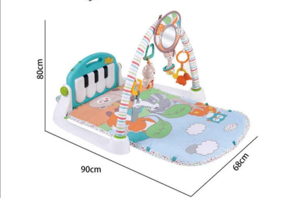 Centru de activitati Bebe  cu pian - Salteluta cu activitati cu pian 2