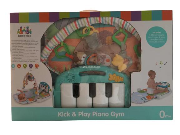 Centru de activitati Bebe  cu pian - Salteluta cu activitati cu pian 1