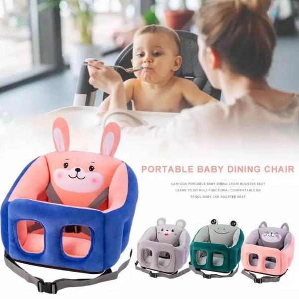Scaun bebelusi portabil din plus - Inaltator scaun din plus pentru Bebe 7