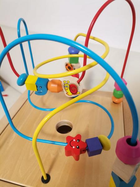 Antepremergator din Lemn Montessori 6 in 1 8