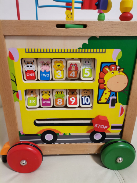 Antepremergator din Lemn Montessori 6 in 1 10