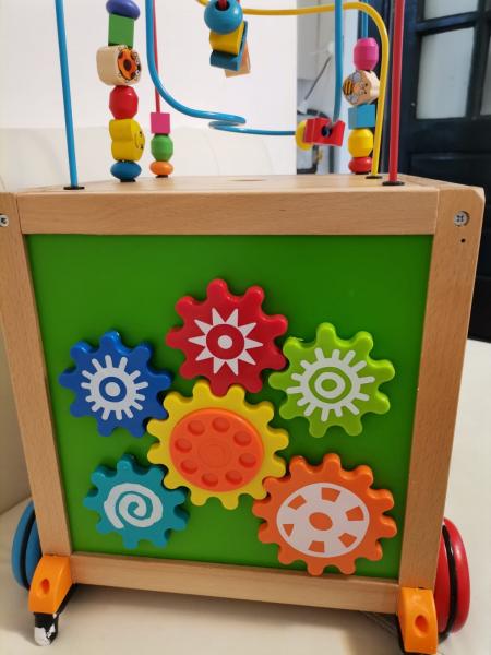 Antepremergator din Lemn Montessori 6 in 1 7