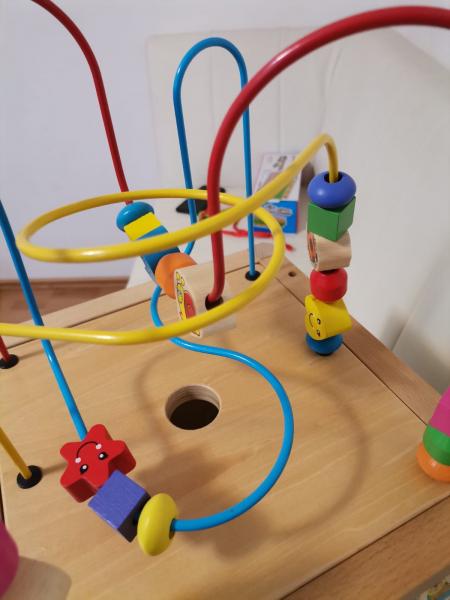 Antepremergator din Lemn Montessori 6 in 1 4