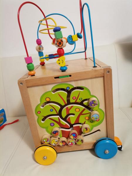 Antepremergator din Lemn Montessori 6 in 1 9