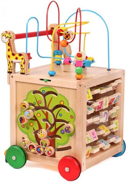 Antepremergator din Lemn Montessori 6 in 1 0