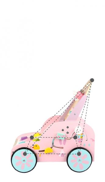 Antepremergator din Lemn Montessorii Rabbit - Antepremergatori din Lemn 7 in 1 Iepuras 3
