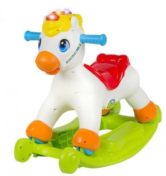 Balansoar Pony 2 in 1 cu sunete Hola 0