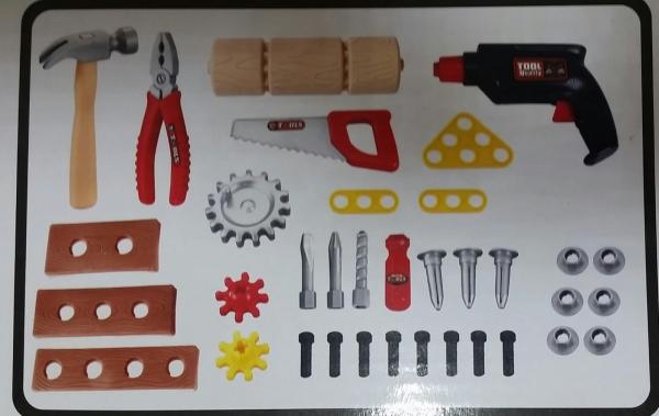 Banc de scule copii Smart Tools 2