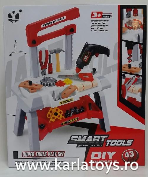 Banc de scule copii Smart Tools 1