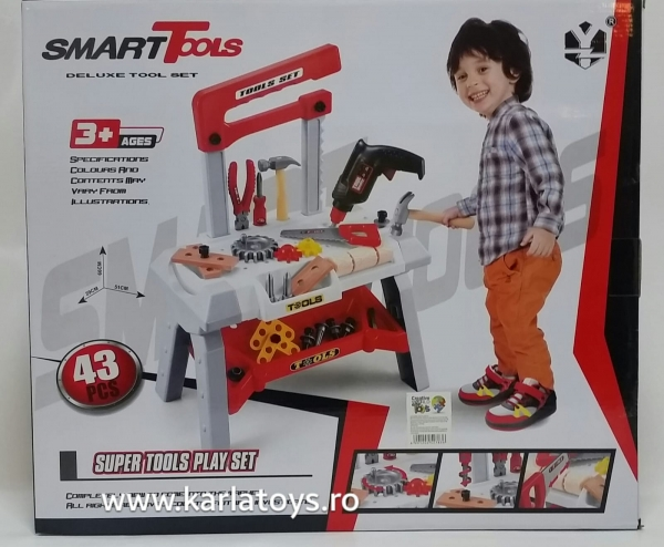 Banc de scule copii Smart Tools 0