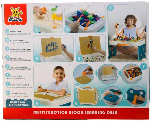 Masa tip lego pliabila 300 piese - Birou multifunctional diverse activitati 1