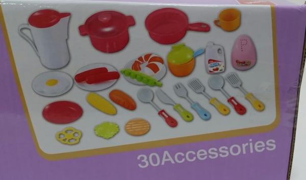 Bucatarie de jucarie copii Cook Fun 30 piese [4]