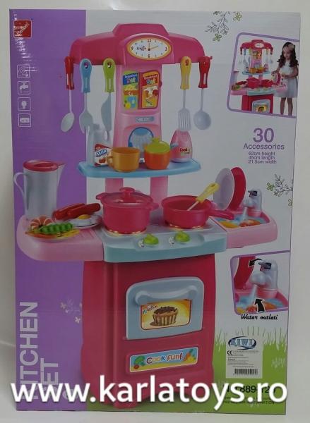 Bucatarie de jucarie copii Cook Fun 30 piese 5