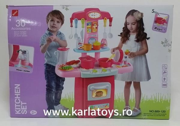 Bucatarie de jucarie copii Cook Fun 30 piese [1]