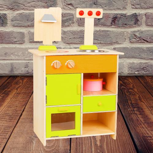 Bucatarie de lemn copii Clasica cu accesorii 9