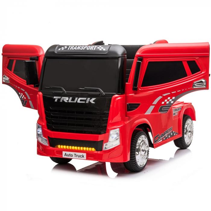 Camion Tir Electric pentru copii 4x4 cu telecomanda [1]