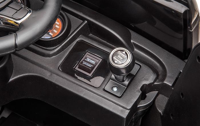 Camion Tir Electric pentru copii 4x4 cu telecomanda [4]