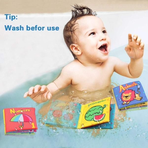 Set 6 carti bebelusi senzoriale - Prima mea carte material textil Top Bright 0