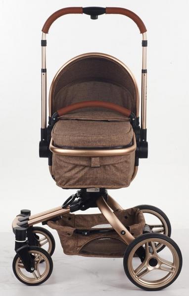 Carucior copii Transformabil 2 in 1 360' Baby Care Șasiu aluminiu 2
