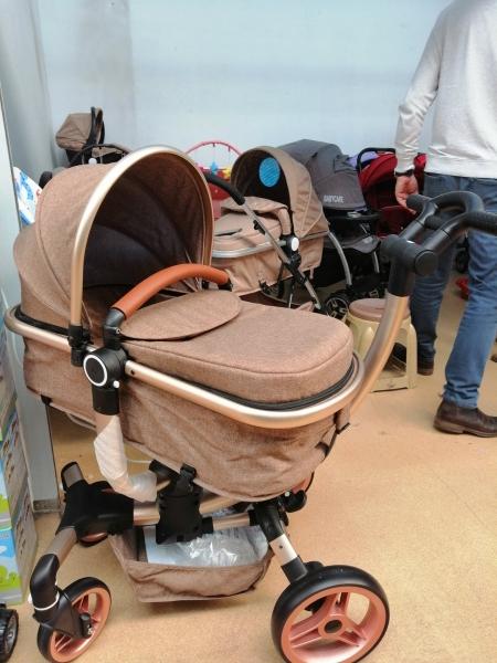Carucior copii Transformabil 2 in 1 rotativ  360' Baby Care 11