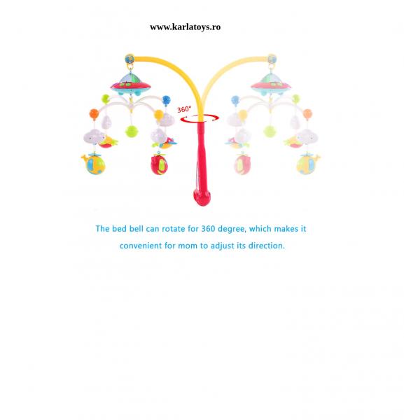 Carusel pentru copii cu avioane si elicoptere Dream world [5]