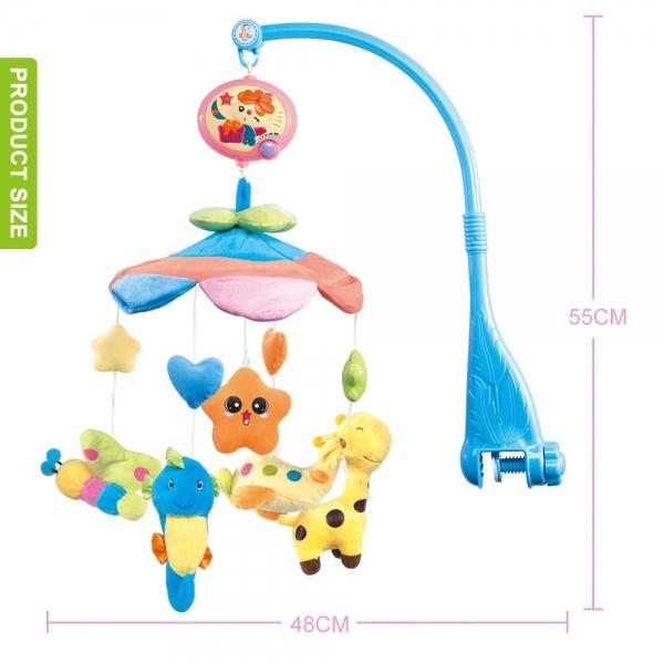 Carusel pentru copii musical mobile - jucarii din plus 3