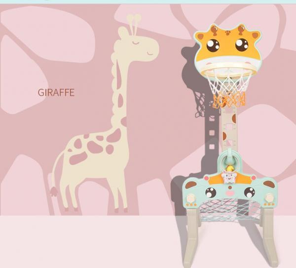 Set Centru de Activitati Sportive 3 in 1 Girafa 5