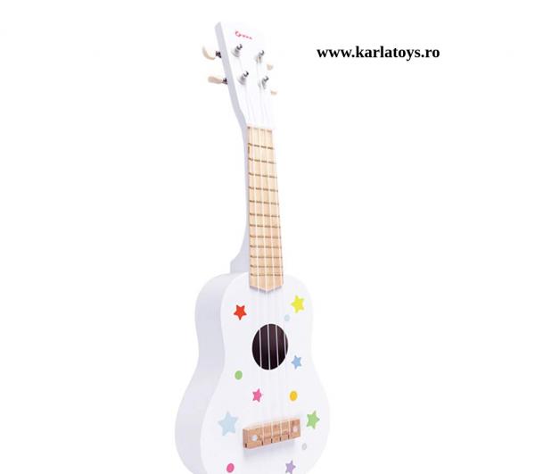 Chitara copii din lemn 0