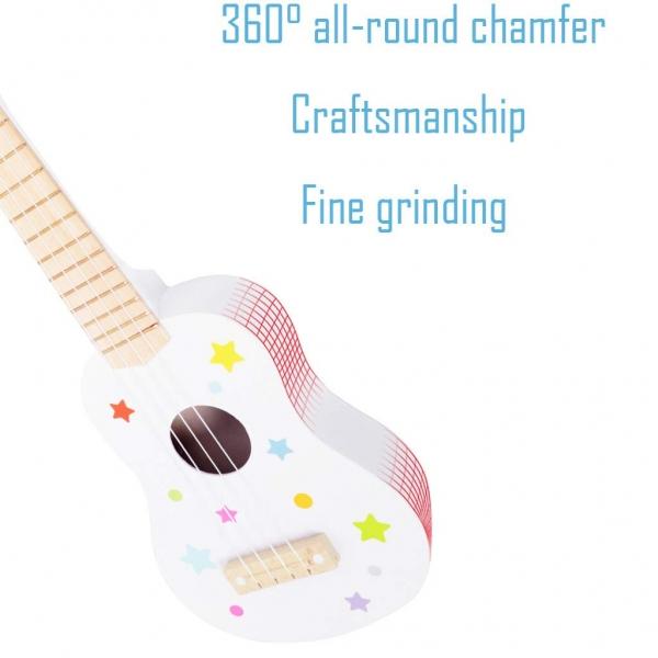 Chitara copii din lemn 1