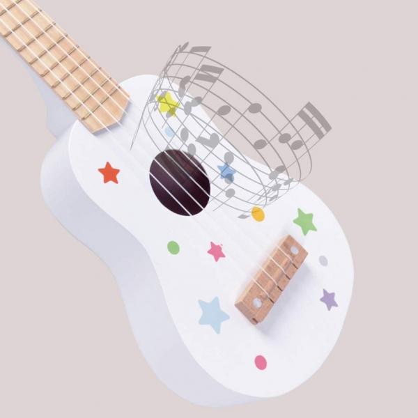 Chitara copii din lemn 2