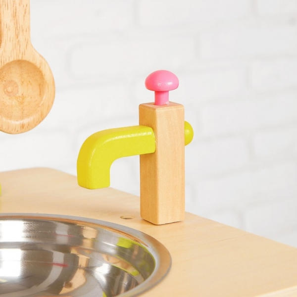 Bucatarie de lemn copii Clasica cu accesorii 3