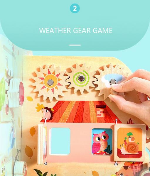 Joc de lemn Educatia Montessorii Pomul Intelepciunii 6