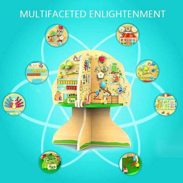 Joc de lemn Educatia Montessorii Pomul Intelepciunii 1