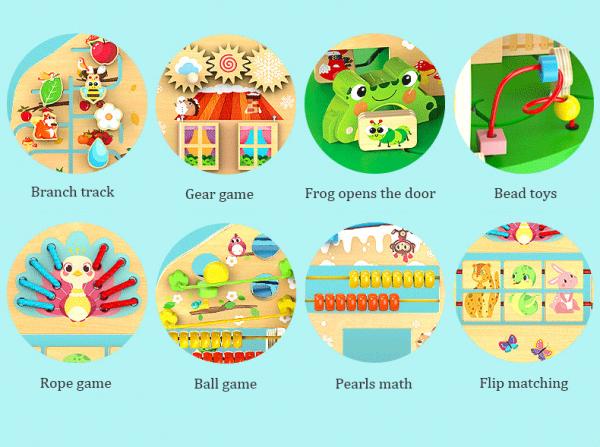 Joc de lemn Educatia Montessorii Pomul Intelepciunii 4