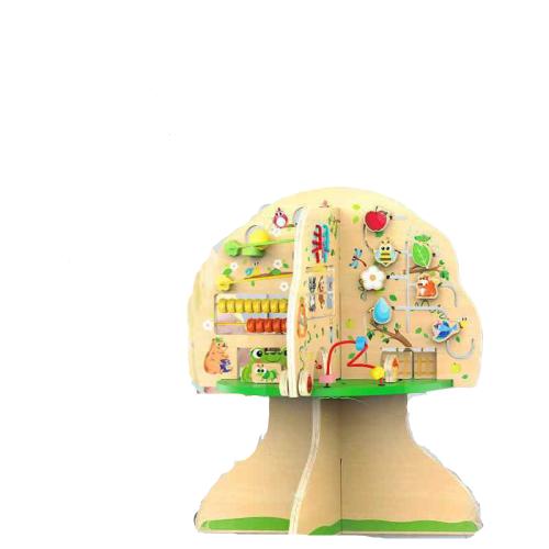 Joc de lemn Educatia Montessorii Pomul Intelepciunii 0