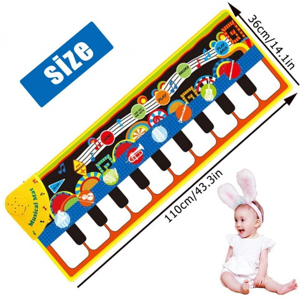 Covor muzical copii Pian 3
