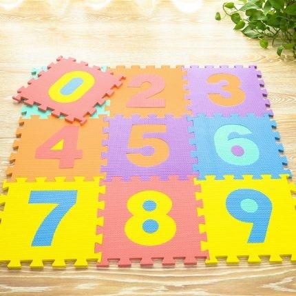 Covoras puzzle cu cifre pentru copii 2