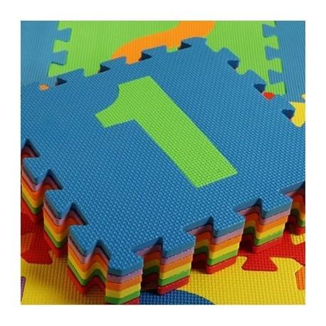Covoras puzzle cu cifre pentru copii 3