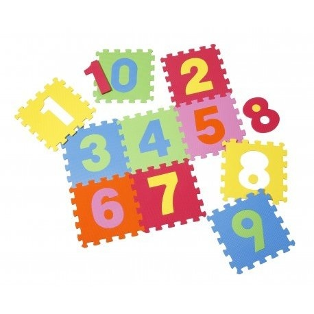 Covoras puzzle cu cifre pentru copii 6