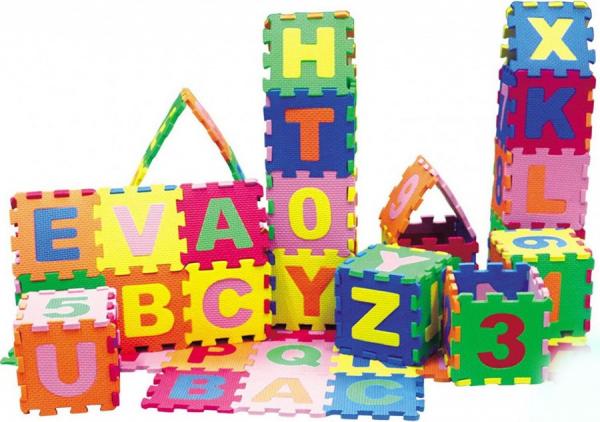 Covoras Puzzle cu Litere 26 piese 0