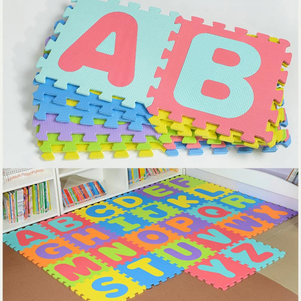 Covoras Puzzle cu Litere 26 piese 1