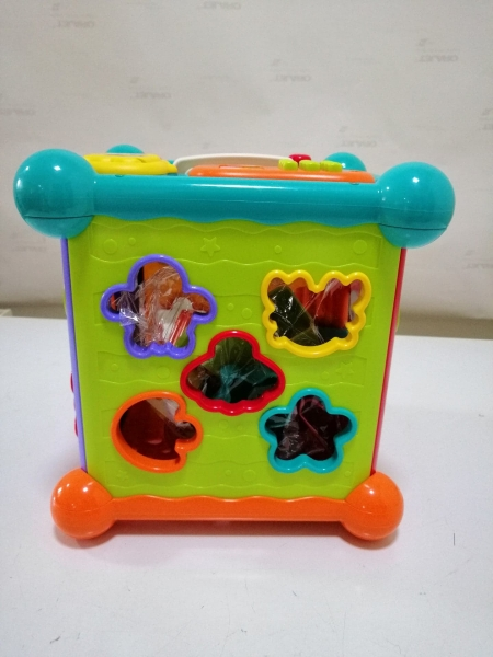 Centru Interactiv Bebe Musical box cu Telecomanda 7