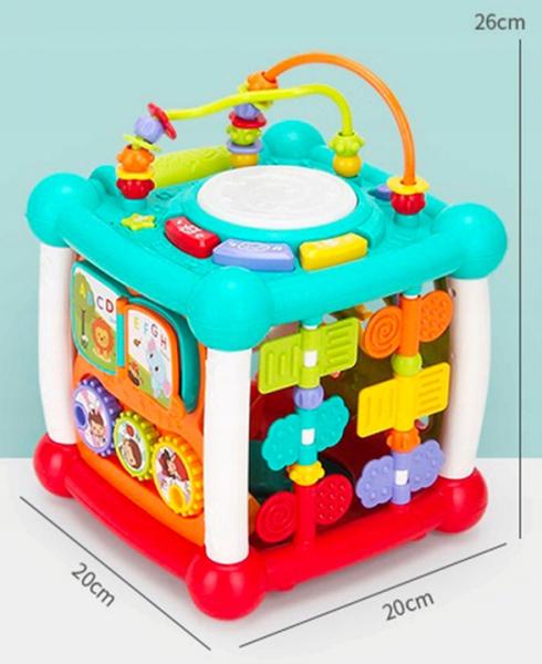 Cub interactiv muzical bebe cu bluetooth Melody [5]