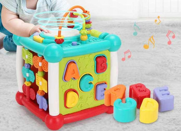 Cub interactiv muzical bebe cu bluetooth Melody [0]