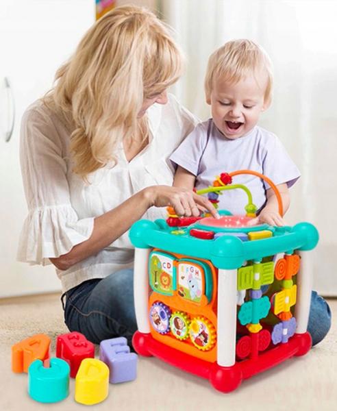 Cub interactiv muzical bebe cu bluetooth Melody [3]