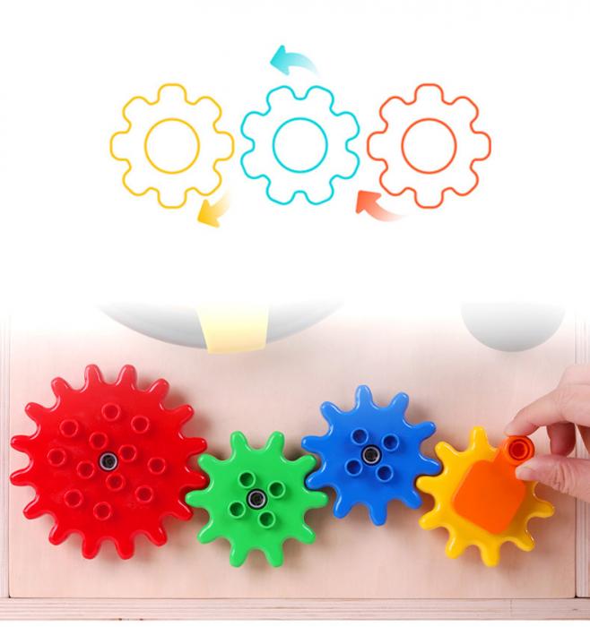 Cub cu Activitatii Montessori din Lemn Inchizatori Casuta cu Jocuri [6]